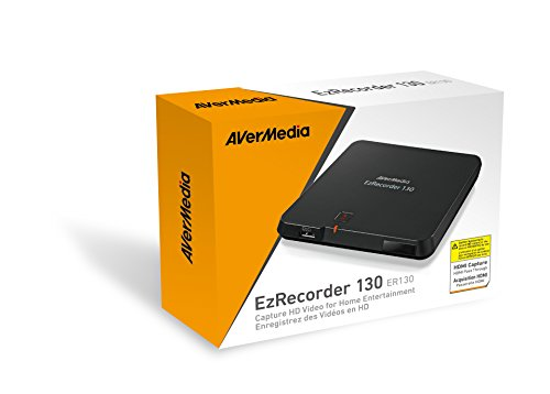AVerMedia EzRecorder 130  - Capture HD Video for Home Entert
