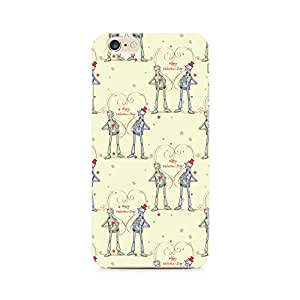 Rayite Robots with a Heart Premium Printed Case For Apple iPhone 6/6s