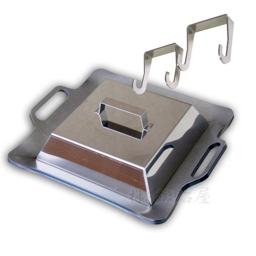 極厚9mm鉄板 GOKUATSU パーフェクトセット(鉄板+蓋+ハンドル) 鉄板焼き専門店の味がご家庭で! MADE IN JAPAN