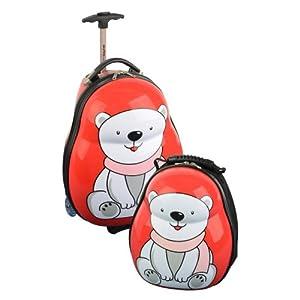 Skyflite Skykidz Polar Bear - Childrens Carry-on Luggage Set