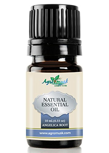 Angelica Root Essential Oil Pure Therapeutic Grade 10ml By Agromusk