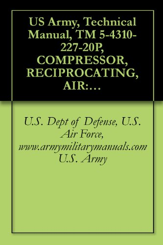 U.S. Dept of Defense, U.S. Air Force, www.armymilitarymanuals.com U.S. Army - US Army, Technical Manual, TM 5-4310-227-20P, COMPRESSOR, RECIPROCATING, AIR: GASOLINE ENGINE DRIVEN; 15 CFM; 175 PSI; RECEIVER MTD, (CHAMPION PNEUMATIC ... MOUNTED, WINTERIZED, (CHAMPION PNEUMATIC M