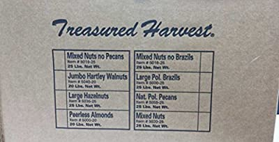 Mixed Nuts - No Brazils - In Shell - 25 lb. by Western Mixers