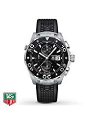 TAG Heuer Men's Watch Automatic Chronograph Aquaracer 500M- Men's Watches