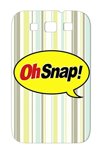 Oh Snap Snap Candy Henry Chocolate Oh Effect Sound Parody Funny Chocolate Parody Bar Bar Henry Satire Protective Case For Sumsang Galaxy S3 Yellow