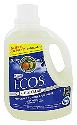 Earth Friendly - ECOS 2X Ultra All Natural Laundry Detergent Free & Clear