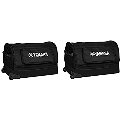 Yamaha YBSP600i Pair of Soft Carry Cases with Wheels for STAGEPAS 600i from YAMAHA