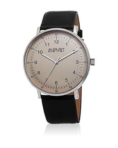 August Steiner Reloj de cuarzo AS8090SS  44  mm