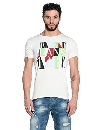 Armani Jeans T-Shirt Manica Corta A6H36-Zx 1N [Avorio]
