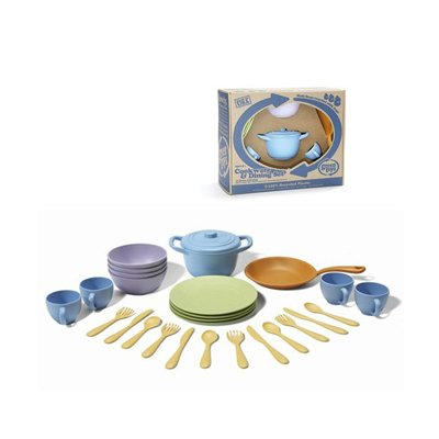 Cookware and Dinnerware Set - 27 Piece Set - 1
