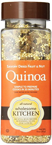 Wholesome Kitchen Quinoa Savory, Dried Fruit And Nut, 11-Ounce