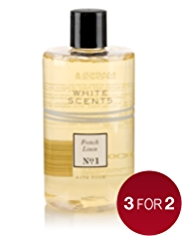 White Scents French Linen Foam Bath 500ml