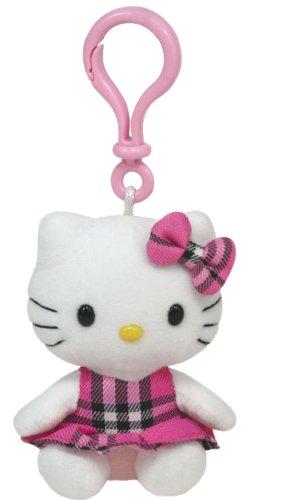 Imagen de Hello Kitty Pink Tartan Llavero