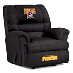 MLB Pittsburgh Pirates Big Daddy Microfiber Recliner by Imperial