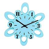 GATTS Blue High grade Plastic Wall Clock from GATTS
