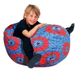 bean bag factory junior bean bag cover spider web bean bag chairs. Black Bedroom Furniture Sets. Home Design Ideas