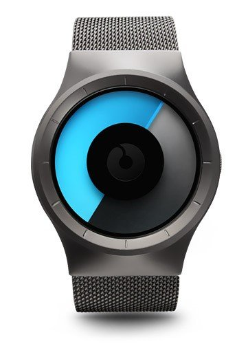 Ziiiro Z0005WGBG Men's Celeste Gunmetal Mono Watch