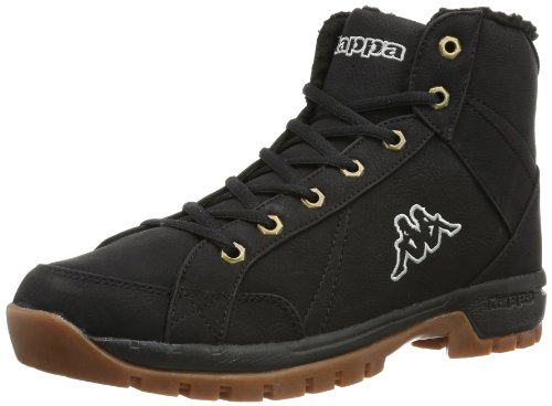 Kappa-LOOK-Footwear-men-Herren-Hohe-Sneakers-Schwarz-1111-black-45-EU