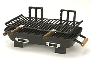 Marsh Allen 30052 Cast Iron Hibachi 10 by 18-Inch Charcoal Grill (Discontinued by Manufacturer)