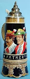 King-Werks Musical Father's Day German Beer Stein 0.5 Liter