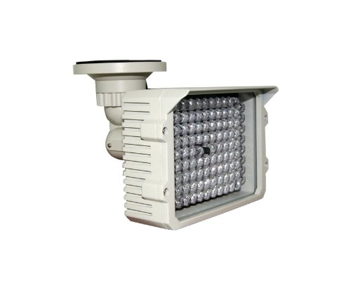 KLS IR110 - 114 LED Indoor/Outdoor Long Range 200-300ft IR Illuminator With Free 3A 12VDC Adaptor