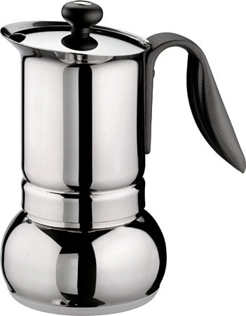 Stainless Stovetop Espresso front-16309