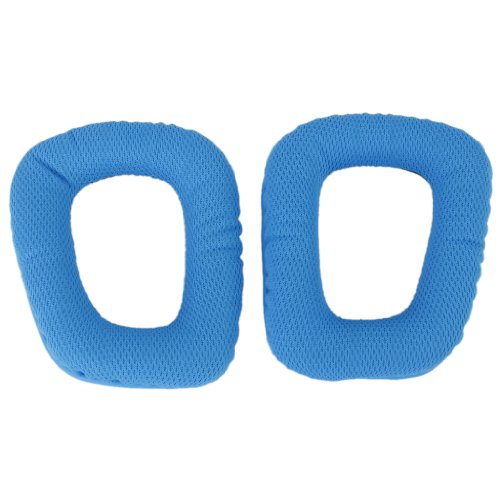 1 Pair Blue Replacement Ear Pads Ear Cushions For G35 G930 G430 F450 Headphone