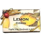 Alchimia Ladybug Natural Large Moisturizing Soap From Italy - Lemon