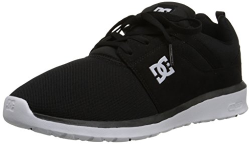 DC Heathrow Skate Shoe, Black/White, 9.5 M US