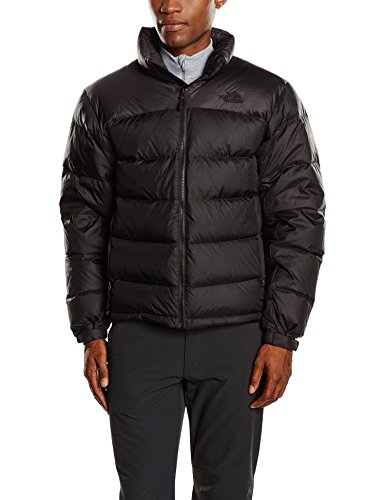 North Face M Nuptse 2 Eu, Giacca Uomo, Nero (Tnf Black), L