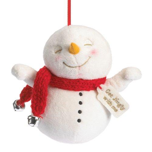Boyds Plush Ho Snowman Plush Ornament