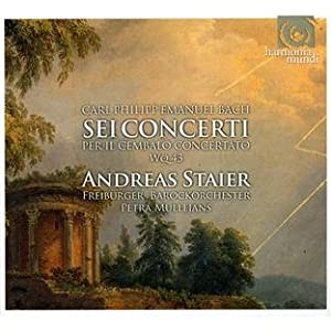 CPE Bach: The Keyboard Concertos Wq 43, 1-6 (Andreas Staier) GRAMOPHONE AWARD WINNER 2011 - Baroque Instrumental from Harmonia Mundi