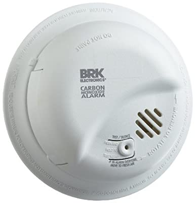 First Alert CO5120BN 120V Powered Carbon Monoxide Alarm with Battery Back-up, La, by First Alert