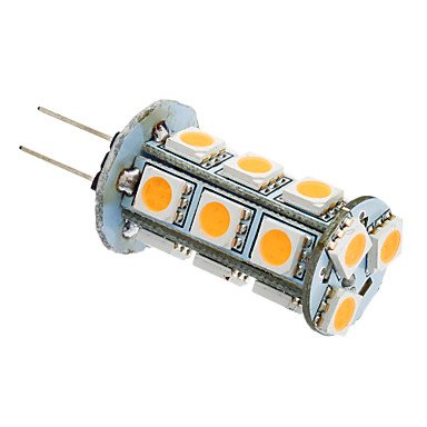 Luo Gy6.35 Gu4 G4 Gy5.3 3W 18X5050Smd 180-220Lm 3000K Warm White Light Led Corn Bulb (12V)