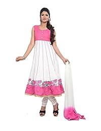 Sareeshut Women's Cotton Regular Fit Anarkali Suits - B00WQZ6CU4