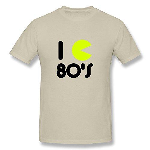 Z'Hang Custom Made Love 80S Tee Shirts/Mens Sizexs Colornatural