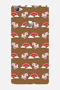 ZAPCASE PRINTED BACK COVER FOR LEECO LE 1S - Multicolor