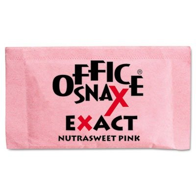 Office Snax 00061 Nutrasweet Pink Sweetener,