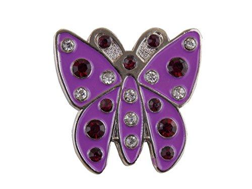 Crystal Butterfly per palline da Golf dal Mercia