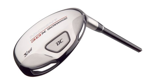 Nickent 3DX DC Ironwood (Right-Handed, #4-23 degree ladies graphite Speed Rated 2 shaft)