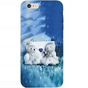 Casotec Teddy Bear Design Hard Back Case Cover for Apple iPhone 6 Plus / 6S Plus