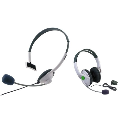 Eforcity Big+ Small Live Headset With Microphone Compatible With Xbox 360 Us