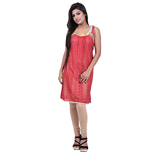India Colors Cotton Printed Kurti