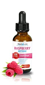100 Pure Raspberry Ketone Drops - The Strongest Raspberry Ketones Liquid Available With 250mg Raspberry Ketone Extracted From Actual Raspberry Fruit As Recommended By Dr Oz For Rapid Fat Burning And Fast Weight Loss Diet - Suppresses Appetite And Increas