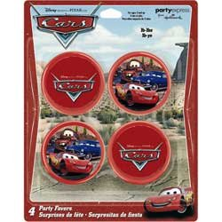 Disney CARS Yo-Yo Favors - 4 Count - 1