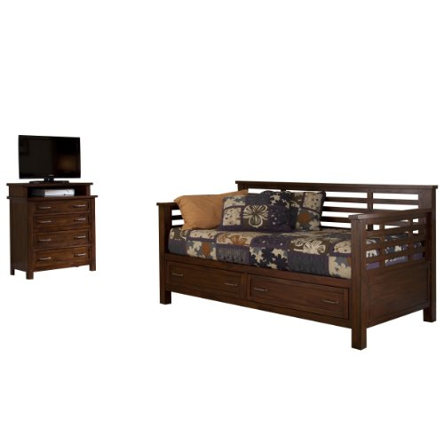 Home Styles Cabin Creek Storage Daybed And Media Chest