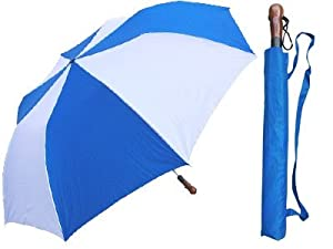 Amazon.com: 12/Case 60 Auto Open Collapsible Golf Umbrella ... |Umbrella With Carrying Case Strap