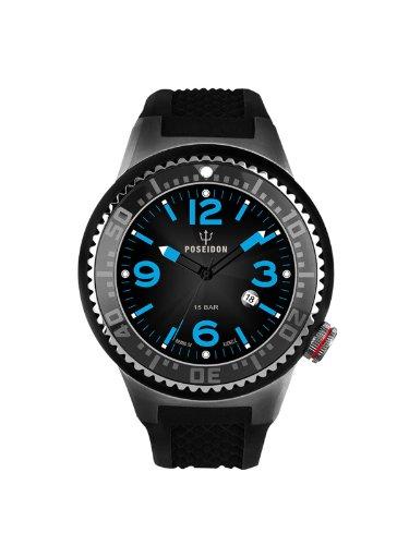 Kienzle K2103053103-00421 - Reloj analógico de cuarzo unisex con correa de silicona, color negro