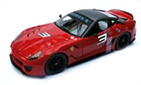 MATTEL 1/18 Ferrari 599XX RED No3