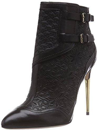 Sebastian S6730 A/18, Stivali modello classico, non imbottiti donna, Nero (Schwarz (vitello nero)), 37